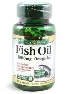 Natures Bounty Fish Oil 1000 Mg Bonus 60 Softgel