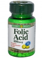 Natures Bounty Folic Acid 400 Mcg 250 Tablets