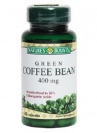 Natures Bounty Green Coffee Bean 400 Mg 60 Softgel