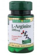 Natures Bounty L-Arginine 500Mg 50 Capsules