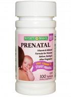 Natures Bounty Prenatal 100 Tablets