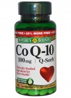Natures Bounty Q-Sorb Co Q-10 - 100 Mg Plus 60 Softgel