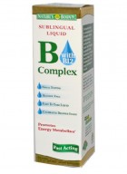 Natures Bounty Sublingual Liquid B Complex With B12 2 Oz
