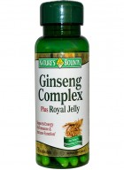 Nature's Bounty Ginseng Complex Plus Royal Jelly 75Caps
