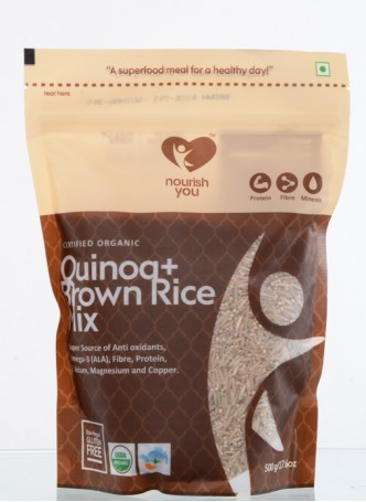 Nourish You Quinoa with Brown Rice Mix (Pack of 2)