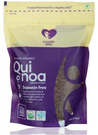 Nourish You Certified Organic Red Quinoa