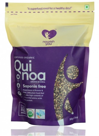 Nourish You Certified Organic Tricolor Quinoa
