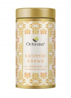 Octavius Kashmiri Kahwa Green Tea, Whole Leaf, Pyramid Tea Bags