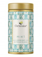 Octavius Mint Green Tea, Whole Leaf, Pyramid Tea Bags