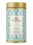 Octavius Mint Green Tea, Whole Leaf, Pyramid Tea Bags