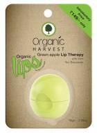 Organic Harvest Green Apple Lip Balm (Pack of 2)