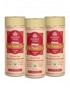 Organic India Tulsi Chai Masala - 100g Tin of Tea (Set of 3)