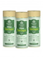 Organic India Tulsi Original Tea- 100g Tin of Tea (Set of 3)