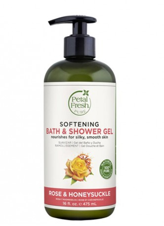 Petal Fresh Pure Rose & Honeysuckle Bath & Shower Gel