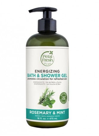 Petal Fresh Pure Rosemary & Mint Bath & Shower Gel