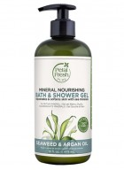 Petal Fresh Pure Seaweed & Argan Oil Bath & Shower Gel