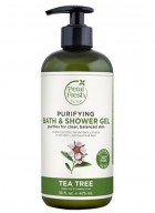 Petal Fresh Pure Tea Tree Bath & Shower Gel
