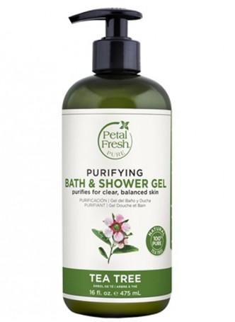 Petal Fresh Pure Tea Tree Bath & Shower Gel