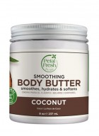 Petal Fresh Pure Smoothing Coconut Body Butter Ultra Moisturizing with Vitamin C