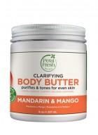 Petal Fresh Pure Refreshing Mandarin & Mango Body Butter Nourishing with Vitamin A