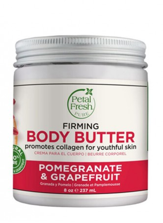 Petal Fresh Pure Firming Pomegranate & Grapefruit Body Butter Refreshing with Vitamin