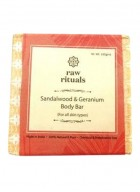 Raw Rituals Sandalwood and Geranium Body Bar (Pack of 2)