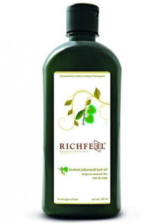 Richfeel Brahmi Jaborandi Hair Oil