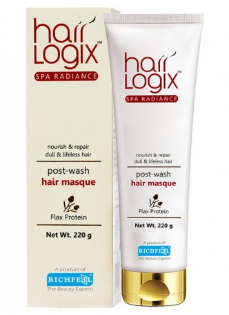 Richfeel Hair Logix Spa Radiance Hair Masque 220g