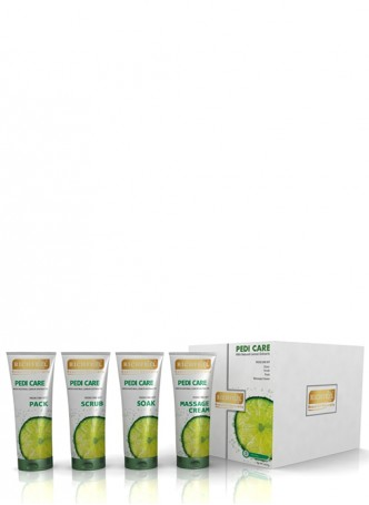 Richfeel Pedi Care with Natural Lemon Etracts 3 Appilcations