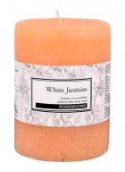 Rosemoore White Jasmine Scented Pillar Candle