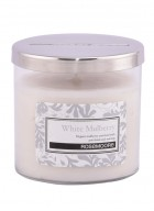 Rosemoore White Mulberry Scented Glass Candle Small