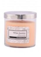 Rosemoore White Jasmine Scented Glass Candle Medium