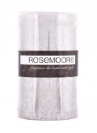 Rosemoore Silver Decal LED Candle - I