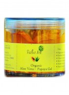 Rustic Art Organic Aloe Vera – Papaya Gel