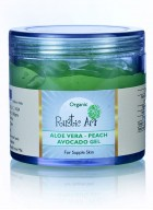 Rustic Art Organic Aloe Vera – Peach & Avocado Gel