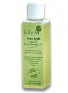 Rustic Art Organic Baby Oil (Green Apple)