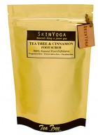 SkinYoga Tea Tree Cinnamon Foot Scrub