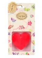 Soap Opera Designer Soap - Message Heart (Pack of 2)