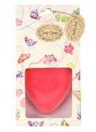 Soap Opera Designer Soap - Plain Heart (Pack of 2)