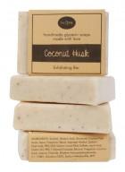 Soap Opera Exfoliating Soap - Coconut Husk (Pack of 3)