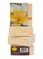 Soap Opera Floral Soap - Frangipani (Pack of 3)