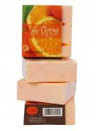 Soap Opera Fruit Soap - Orange (Pack of 3)