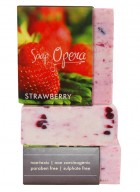 Soap Opera Fruit Soap - Strawberry (Pack of 3)