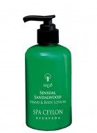 Spa Ceylon Sensual Sandalwood - Hand And Body Lotion