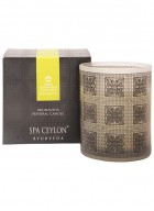 Spa Ceylon Lemongrass Mandarin Home Aroma Blend Natural Candle
