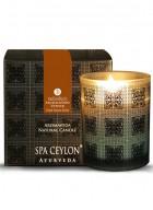 Spa Ceylon Aromaveda Natural Candle-Sandal Vetiver