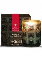 Spa Ceylon Aromaveda Natural Candle-Cardamom Rose