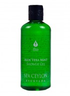 Spa Ceylon Aloe Vera Mint Bath and Shower Gel