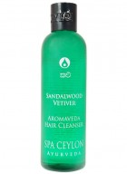 Spa Ceylon Sandalwood Vetiver Aromaveda Hair Shampoo
