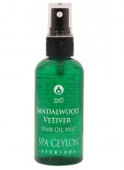 Spa Ceylon Sandalwood Vetiver Oil Mist Hair Styler